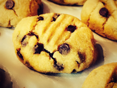 Acorn Squash Chocolate Chip Cookie!
