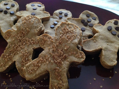 Gingerbread Cookies a Delicious Wheat and Gluten Free Recipe!
