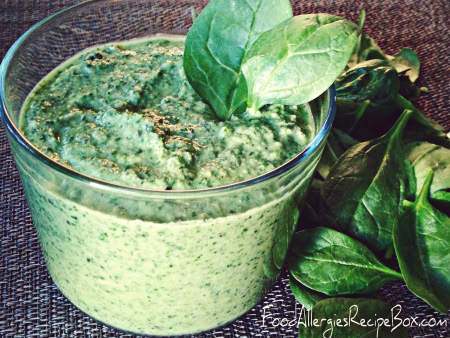 Nut Free Pesto Recipe!