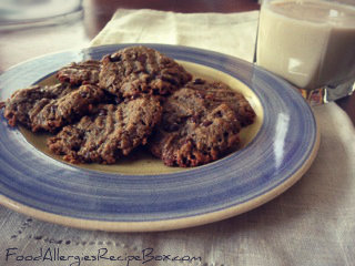Sunbutter Cookie Recipe! A Peanut Butter Cookie Recipe Alternative!