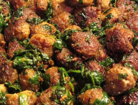 Turkey Meatballs using Quinoa