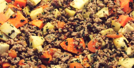 Ground Turkey Breakfast Recipe with sweet potatoes
