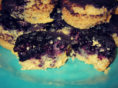 Gluten Free Protein Packed Blueberry Muffin Recipe