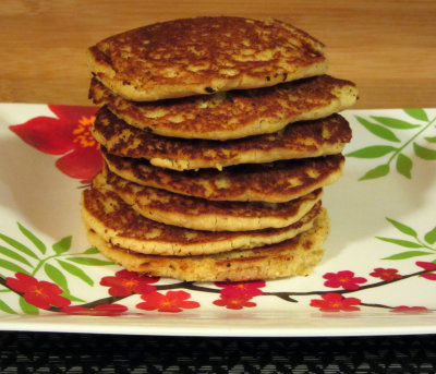 Healthy Protein Packed Gluten Free Pancakes